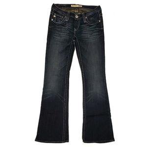Big Star Womens Sweet Ultra Low Rise Jeans 27L